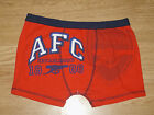 Boys Arsenal Gunners Boxer Shorts. BNWT. Ages 5-6 7-8 9-10 11-12 (162)