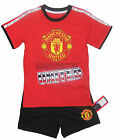 Boys United Short Pyjamas sizes from 12-18 months  up to 9-10 years