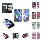 Wallet Flip Stand Pouch Phone Cover Case and Screen Protector for ZTE Quartz