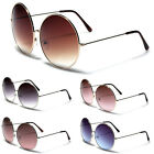 Giant Round Vintage Sunglasses Big Retro Men Women Fashion Silver Gold Glasses