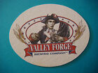 Beer Coaster Pub Mat  VALLEY FORGE Brewing Co  CLOSED PENNSYLVANIA Brewery