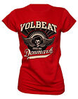 VOLBEAT - GIRLIESHIRT *RISE FROM DENMARK* GR. S M L XL T-SHIRT ROCK N ROLL BAND