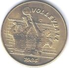 USA Games of the XXIII Olympiad Los Angeles Volleyball 1984 SCRTD Fare Token