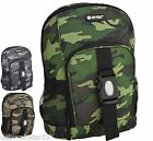 HI TEC Backpack Boys Backpack Boys School Bag  Boys Camouflage Backpack