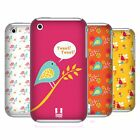 HEAD CASE DESIGNS BIRD PATTERNS SERIES 1 HARD BACK CASE FOR APPLE iPHONE 3GS