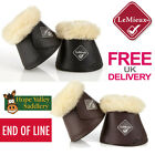 LeMieux Wrapround Lambskin Over Reach Boots *END OF LINE* *FREE UK SHIPPING*