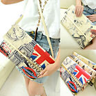 Lady Women Envelope Bag Print Wallet Clutch Shoulder Purse Handbag Messenger