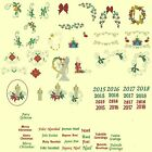 Candlewick & Satin Christmas Machine Embroidery Designs-Anemone Embroidery