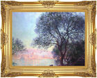 Antibes Vue de la Salis by Claude Monet Painting Reproduction Framed Canvas Art