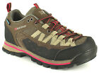 New Ladies/Womens Brown Karrimor Spike Hiking Shoes/Walking Boots. UK SIZES