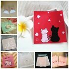 50X Self-adhesive Cello Sweet Treat Display Favor Party Bags Cat Cellophane