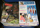 THE ARMOURER MAGAZINE VARIOUS MAGAZINES 1999 - 2009