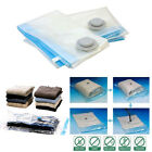 Vacuum Space Saving Bags Multi Pack Clothes Storage Hoover Reusable Zip Seal Bag
