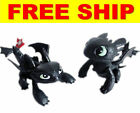 How to Train Your Dragon Toothless Night Fury Toys Action Figures Cake Toppers