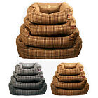 ANIMAL CAT DOG PET BED WARM COSY COMFY SOFT CUDDLY WASHABLE BASKET HOME PETS NEW