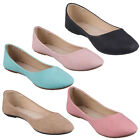 REFRESH DEMI-05 Women's Round Toe Ballet Flats