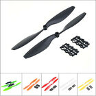 1Pairs Black 10x4.5 1045 Nylon CW CCW Propeller Prop For Multi-Copter QuadCopter