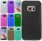 Samsung Galaxy S6 CANDY Gel Flexi Skin Case Phone Cover Frosted +Screen Guard