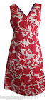 NEW BODEN FLORAL COTTON MOCK WRAP STYLE SUMMER TUNIC SHIFT DRESS TEA PARTY