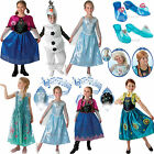GENUINE LICENSED DISNEY OFFICIAL Frozen Princess Outfit Child New Fancy Dress