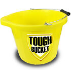 Heavy Duty Strong Yellow Builders Bucket 15 Litre - 5 Years Guarantee