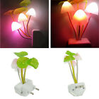 Creative Lamp Colorful LED Mushroom Night Light Bed Wall Lamp Home Illumination