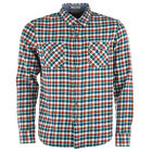 Mens Levi&Apos;S Truckee Western Shirt In Red / Blue From Get The Label