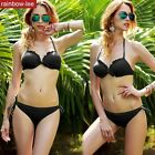 Women's Bandage Bandeau Bikini Swimwear Set Beach Push Up Swimsuit Bathing Suit