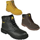 MENS SAFETY BOOTS STEEL TOE CAPS ANKLE TRAINERS HIKING SHOES TREKKING 6-13UK NEW