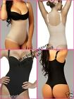 Vedette Colombian Thong Body Shaper, Fajas Reductoras Tanga Black - Nude