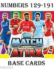 2014/2015 Match Attax  #129-191  Liverpool / Man Utd / Man City / Leicester card