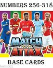 2014/2015 Match Attax  #256 -318 Stoke City / Sunderland / Swansea / Tottenham