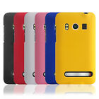 Colors Rubber Hard Snap On Case Cover Skin For Sprint HTC EVO 4G Phone New
