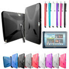 X-Line Gel Case Cover For Samsung Galaxy Note 10.1 and Screen Protector