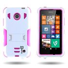 Extreme Protection Kickstand Hybrid Phone Cover Case for Nokia Lumia 635