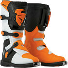 Thor MX ATV Blitz S5 ADULT Orange Boots 7-15
