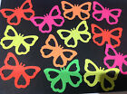 Large Sizzix Butterfly Die Cuts for Cards, Crafts, Scrapbooking - Sets of 12