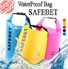 SAFEBET Waterproof Dry Bag Free Shoulder Strap Outdoor Camp Swimming Pouch Case