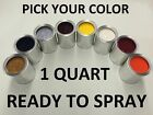 Pick Your Color- Ready to Spray - 1 Quart of Paint for Ford Car Truck SUV Qt RTS