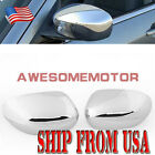 US+Pair+Chrome+Side+Mirror+Covers+Trim+For+Chrysler+300C%2FDodge+Magnum+Charger+AM