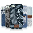 HEAD CASE JEANS AND LACES SILICONE GEL CASE FOR APPLE iPHONE 4
