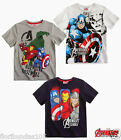 BOYS AVENGERS ASSEMBLE T-SHIRTS 3 DESIGNS AGE 6,8,10,12 YEARS