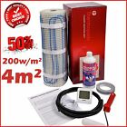 Electric Underfloor Undertile Heating Kit 200w 4m2 Thermopads FREE Delivery