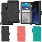 caseen Samsung Galaxy S6 / S6 Edge Leather Flip Cover Credit Card Wallet Case