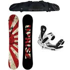 New 2015 Camp7 Uprise Men's Snowboard + Summit Bindings + Grayne Pro Bag Package