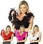 FEATHER BOA Red Black White Pink Boa 20s Flapper Burlesque Hen Night Party BOA