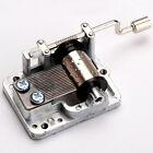 Many Songs! New Mechanical Hand Crank Musical/Music Box Movement DIY Accessories