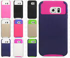 For Samsung Galaxy S6 NEST HYBRID HARD Case Rubber Phone Cover Accessory