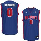Mens Detroit Pistons Andre Drummond adidas Royal Blue Replica Alternate Jersey