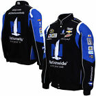 Mens Black Dale Earnhardt Jr. Nationwide Insurance Uniform Twill Jacket